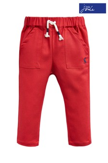 Joules Red Ethan Jersey/Woven Trouser