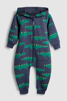 All Over Print Crocodile All-In-One (3mths-7yrs)