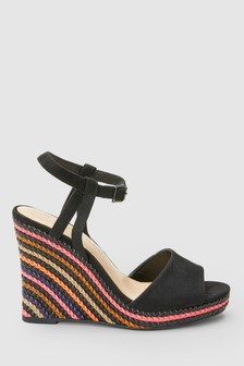 Multi Plait Detail Wedges