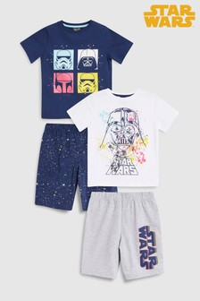 Star Wars™ Pyjamas Two Pack (3-14yrs)