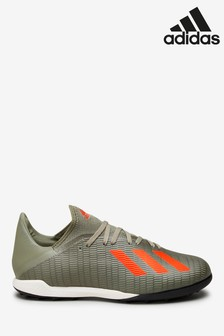 adidas Khaki Legacy X Turf Football Boots