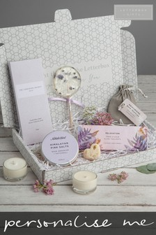 Personalised Relaxation Gift Set by Letterbox Gifts