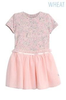 Wheat Pink Princess Dress