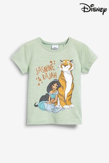 Disney™ Aladdin Jasmine Short Sleeve T-Shirt (3 חודשים-7 שנים)
