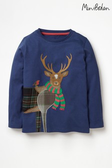 Boden Patchwork Animal T-Shirt