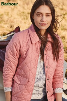 Barbour® Pink Packaway Quilted Jacket