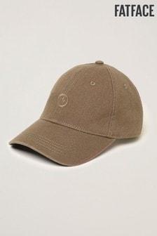 FatFace Green Plain Baseball Cap