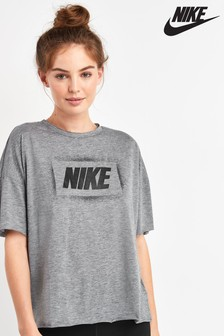 Nike Dri-FIT Grey Oversized Tee