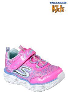 Skechers® Pink Galaxy Lights Trainer