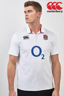 Canterbury England Rugby Kurzärmeliges Trikot