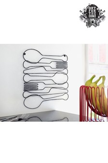 Dinner Time Wire Frame by Art For The Home