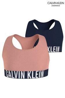 Calvin Klein Pink Intense Power 2 Pack Bralettes