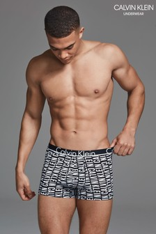 Calvin Klein Black/White Trunk
