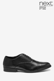 Toe Cap Oxford Shoes