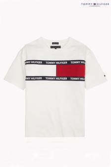Tommy Hilfiger White Flag Tee