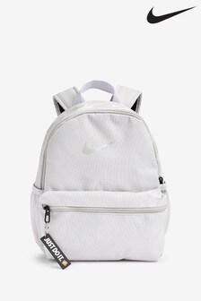 Nike Kids Grey Brasilia JDI Mini Backpack