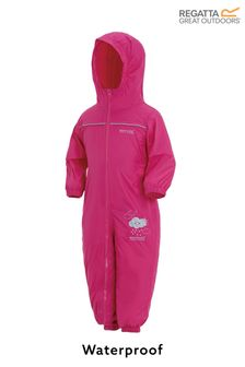 Regatta Pink Waterproof Puddle Suit