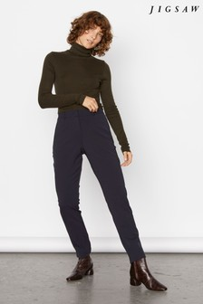 Jigsaw Paris Slim Fit Tapered Trousers