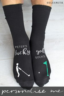 Personalised Golf Novelty Socks by Solesmith