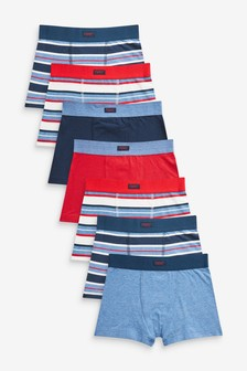 7 Pack Stripe Trunks (1.5-14yrs)