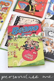 Personalised Beano Annual From Your Year by Signature Book Publishing
