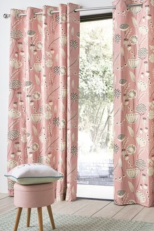 Seedpod Eyelet Curtains