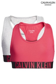 Calvin Klein Girls Intense Power Bralettes Two Pack