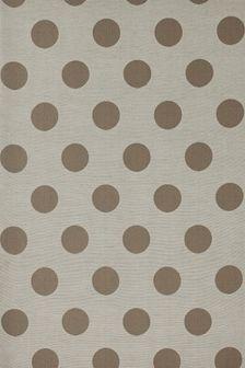 Polka Dot Jacquard Eyelet Curtains Fabric Sample