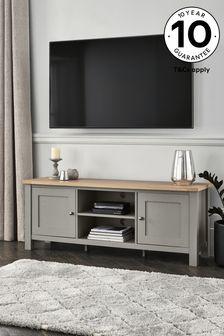 Malvern Dove Grey Wide TV Stand