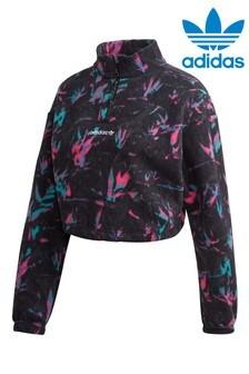 adidas Originals Polar Fleece Printed 1/4 Zip Top
