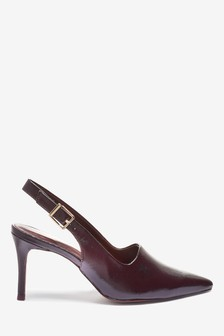 High Cut Slingbacks