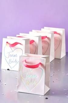 Pack of 5 Team Bride Gift Bags