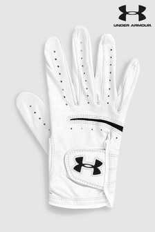 Guante de golf blanco Strike de Under Armour