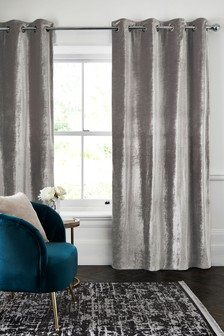 Plush Velvet Eyelet Lined Heavyweight Curtains