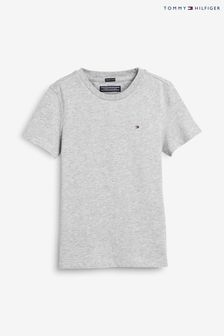 Tommy Hilfiger Grey Basic T-Shirt