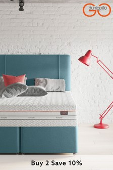 Teal Verve Headboard By Dunlopillo
