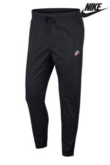 Nike Heritage Black Polar Fleece Joggers