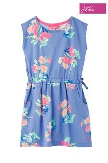 Joules Blue Jude Jersey Dress