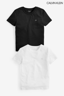 Calvin Klein Boys Modern Cotton T-Shirts Two Pack