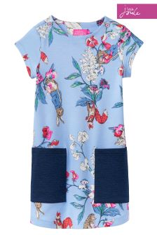 Official Peter Rabbit Movie Collection Joules Blue Dress