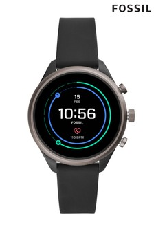 Fossil™ Black Smart Watch