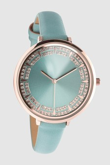 Sparkle Dial Watch