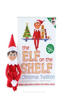 Elf On The Shelf Boy