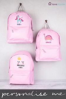 Personalised Unicorn Backpack by Loveabode
