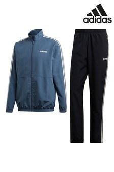 חליפת ספורט עם 3 פסים של adidas דגם Must Haves בכחול דיו