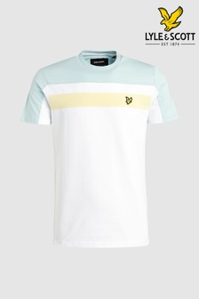 T-shirt Lyle & Scott avec colour-block