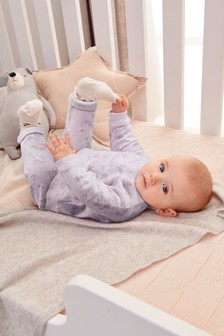 Bunny Print Sweat Set (0mths-2yrs)