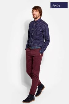 Joules Dark Wine Chino Trouser