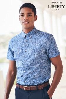 Liberty Fabric Short Sleeve Shirt