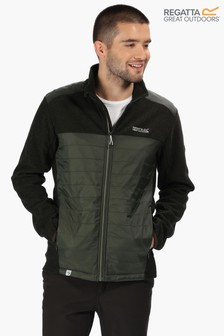 Regatta Green Colbeck Showerproof Quilted Fleece